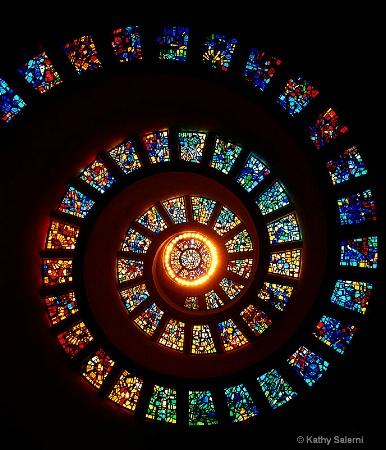 Kaleidoscope Spiral