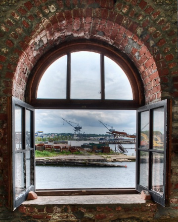Brooklyn Navy Yard View