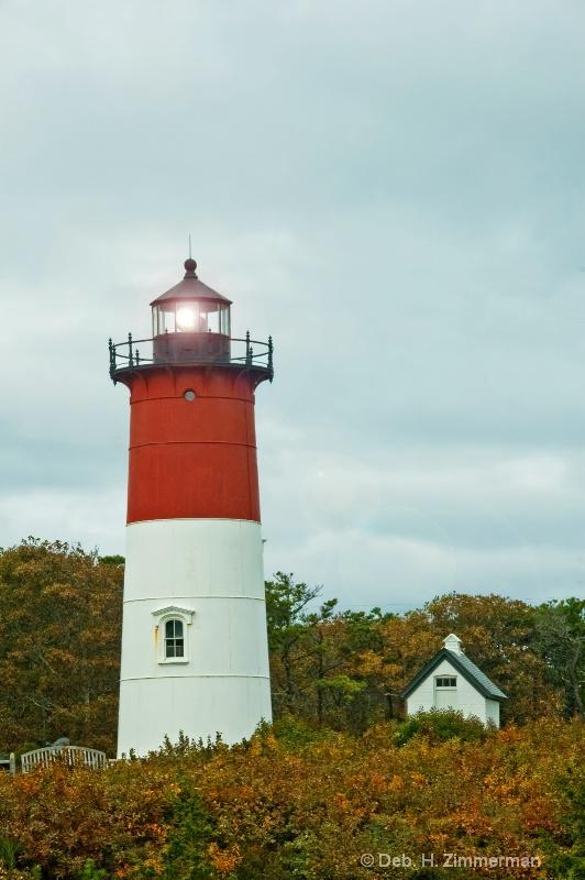Nauset Lighthouse at work - ID: 10283134 © Deborah H. Zimmerman