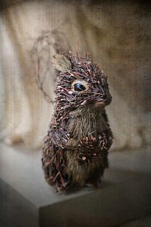 Bunny of twigs