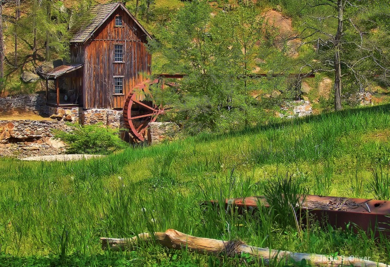 Sixies Mill in Spring