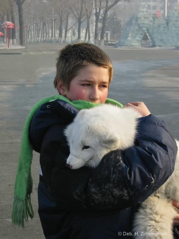 Caring for the arctic fox - ID: 10318885 © Deborah H. Zimmerman