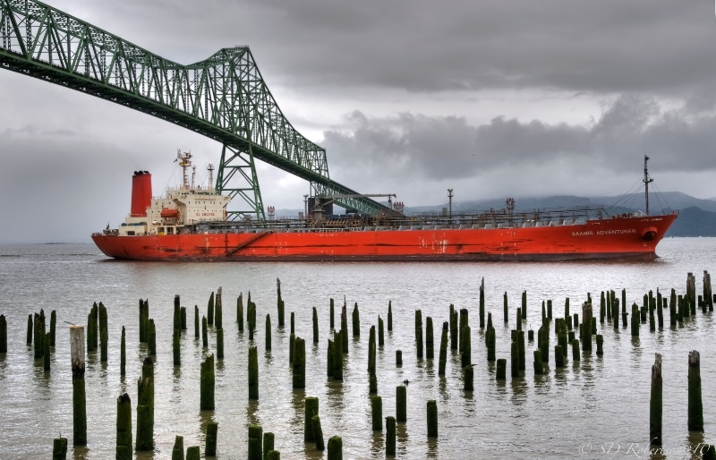Saamis Adventurer, Astoria, Oregon