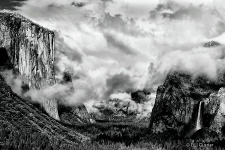 Yosemite and Bridalveil