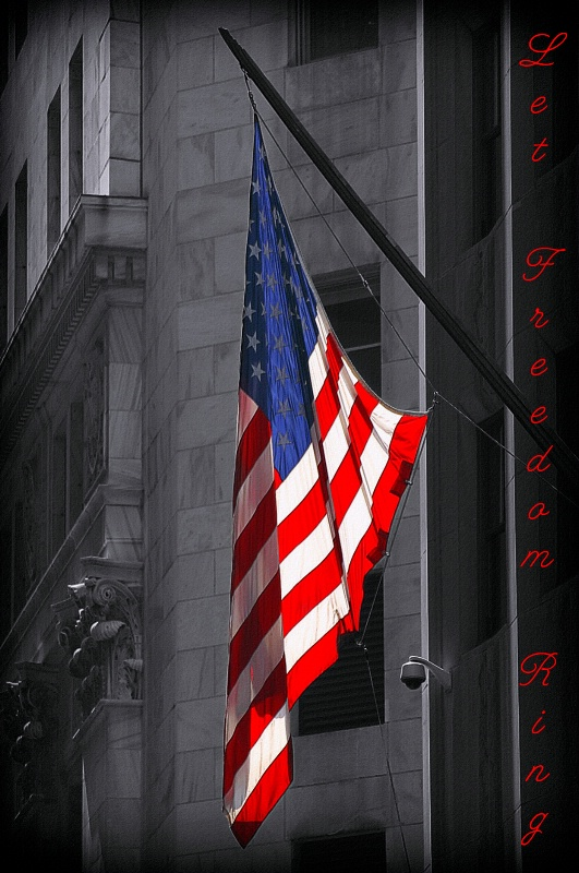~ Old Glory ~ - ID: 10395396 © Trudy L. Smuin