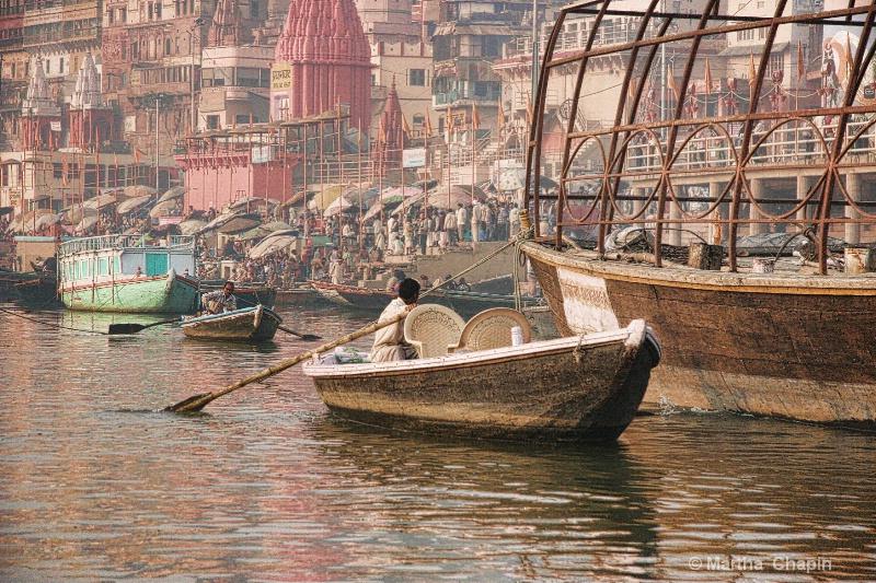 Ganges River India - ID: 10396431 © Martha Chapin