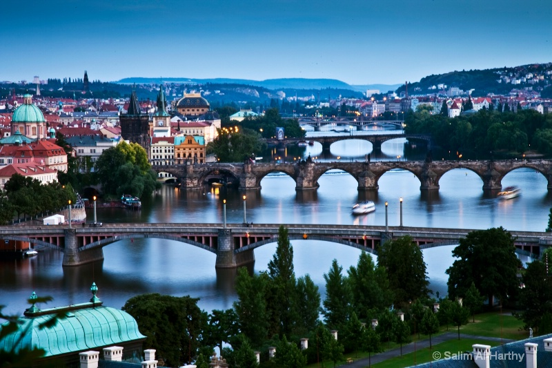 Prague (Blue Hour)