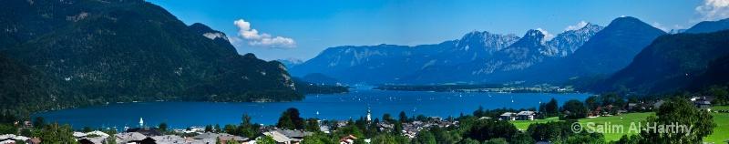Salzburg - Wolfgangsee Lake (Panoramic)