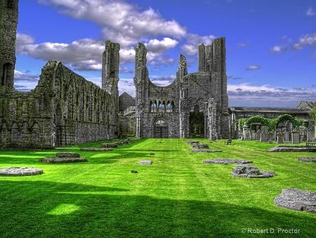 Arbroath Abbey Scotland
