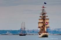 Europa & Pride of Baltimore - Tall Ships Festival