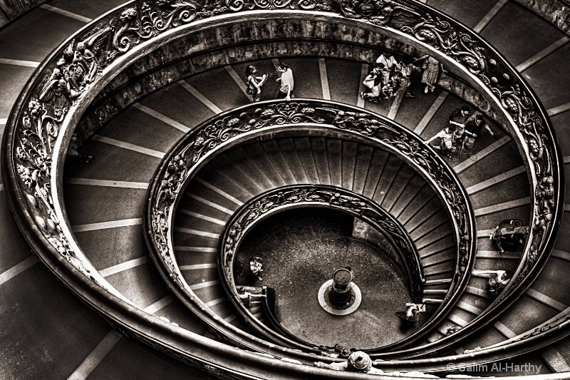 Staircase of the Vatican Museums