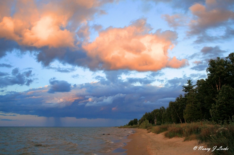 Lake Huron Evening