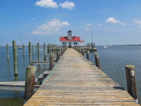 In Manteo Harbor