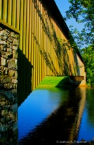 Pennsylvania Dutch Covered Bridge - Vertical