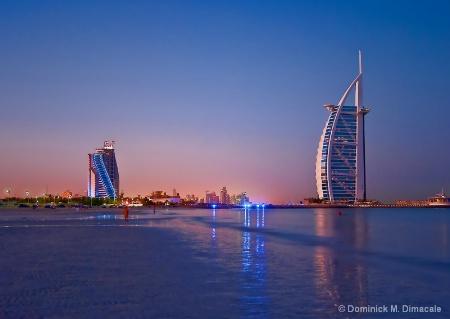 ~ DAWN IN DUBAI ~