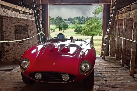 Ferarri with a View: Barn #4