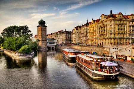 Vltava River (HDR)