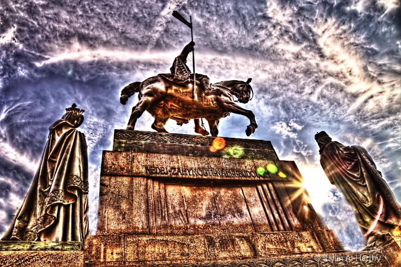 Statue of St. Wenceslas in Prague
