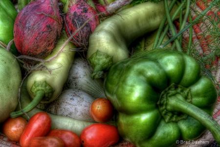 Grunged Veggies