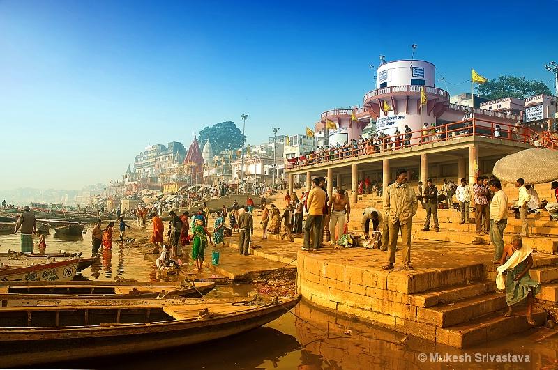 Life at Varanasi Ghat