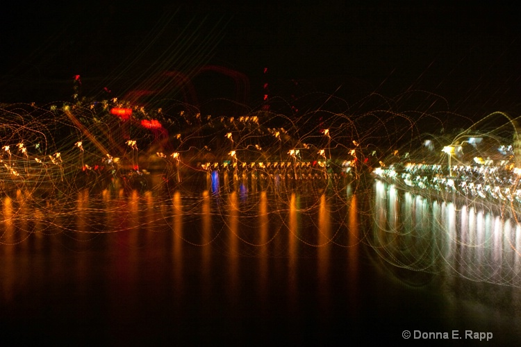 pittsburgh waterfront lights - ID: 10553487 © Donna Rapp