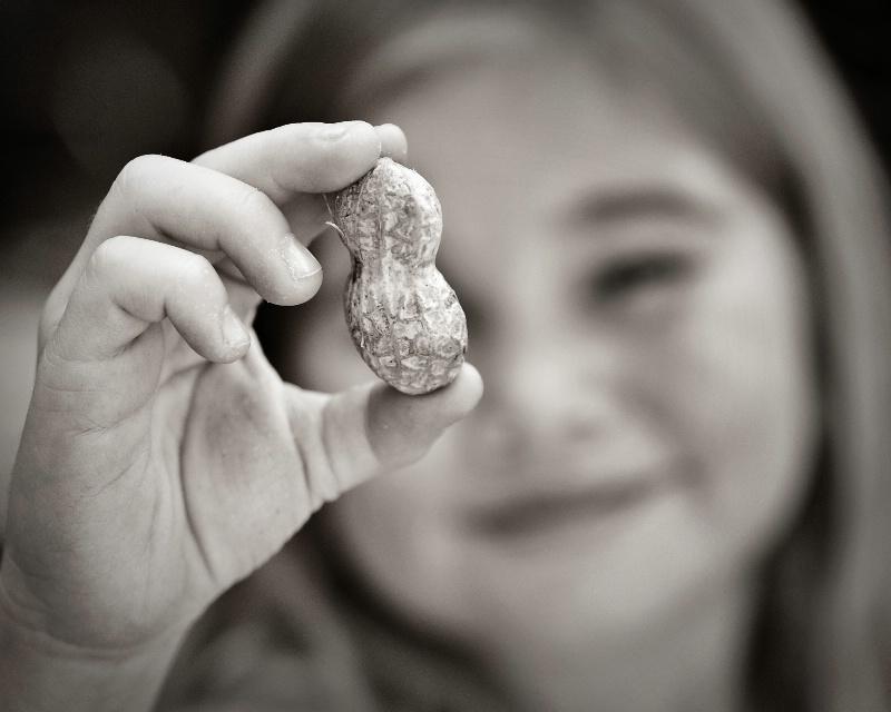 see my peanut?