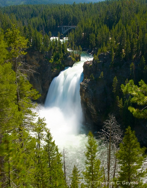 Upper Falls - ID: 10579270 © Thomas C. Geyer
