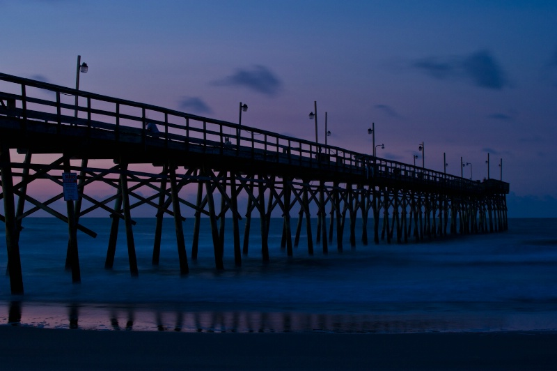 Sunset Pier at Dawn