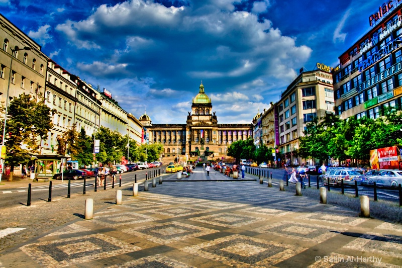 The Wenceslas Square (HDR)