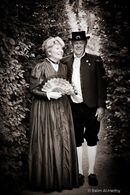 MR and Mrs Salzburg