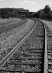 Tracks going East