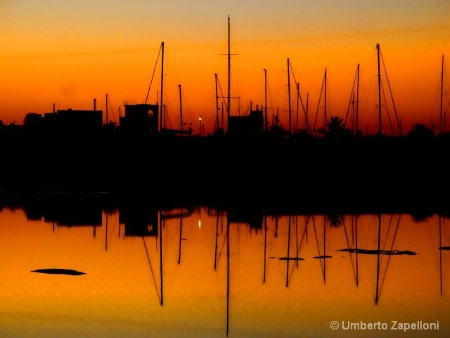 Sunset in Formentera