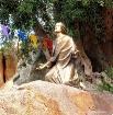 Jesus in the gard...