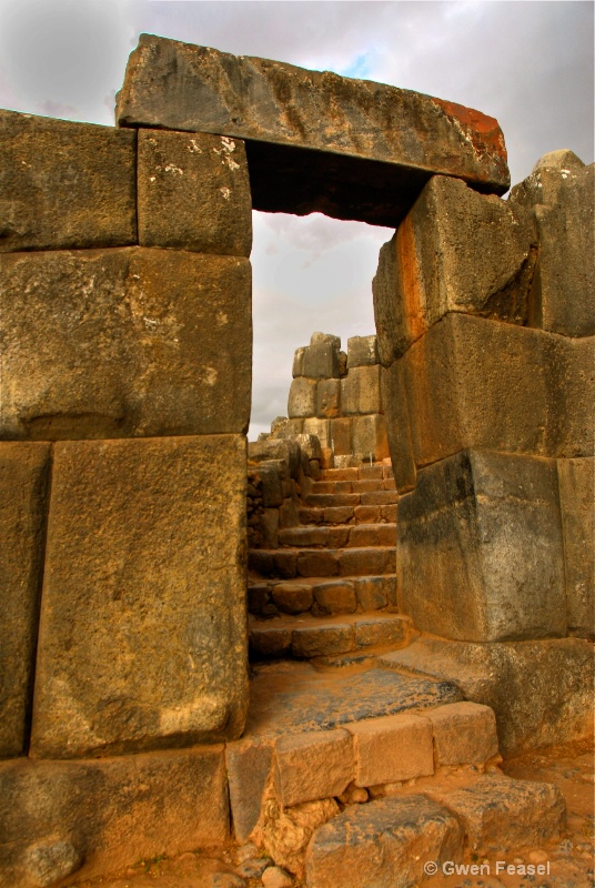 Incan Doors at Sacsayhuaman Ruins - ID: 10663363 © gwen feasel