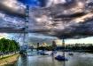 a London Eye view