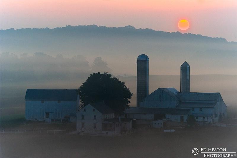 Amish Sunrise