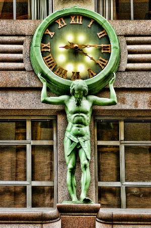 Tiffany´s Clock, NY