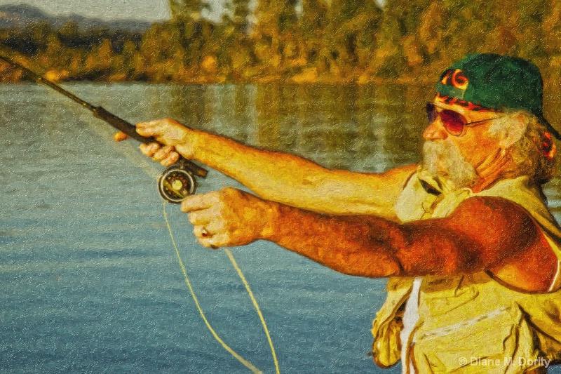 Fly fisherman-edited
