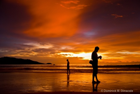 THE BEAUTY OF PATONG BEACH'S SUNSET