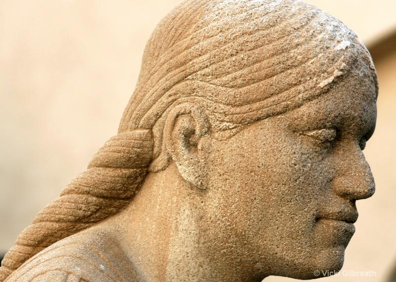 Stone-Faced - ID: 10710092 © Vicki Gilbreath