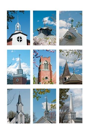 Church Steeples of Barrington - ID: 10717973 © Stan Chamberlain