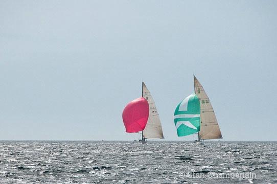 America's Cup 12-Meter Racing Sailboats - ID: 10718308 © Stan Chamberlain