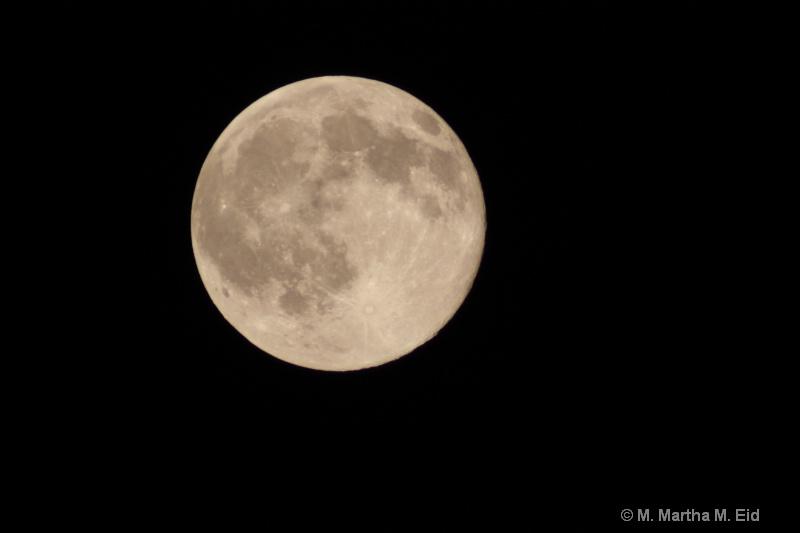 Full Moon - ID: 10718753 © M.  Martha M. Eid