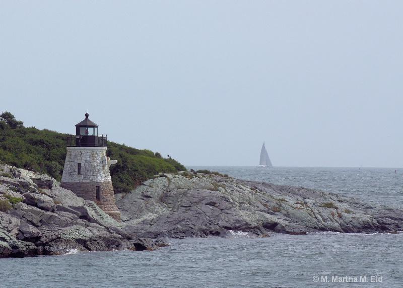 Castle Hill, Newport, Rhode Island - ID: 10719574 © M.  Martha M. Eid