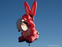energized on his way at the balloon classic