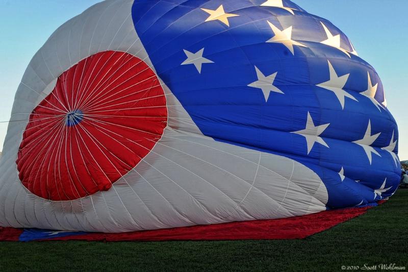 Patriotic Flight