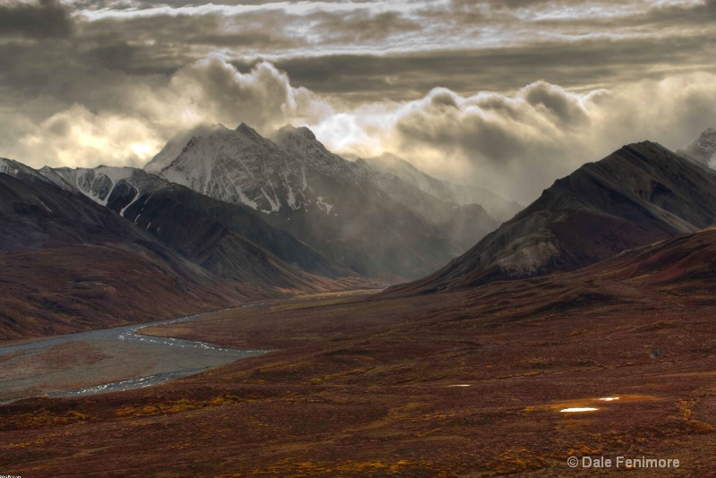 Alaska Range at Toklat Station - ID: 10746451 © Dale Fenimore