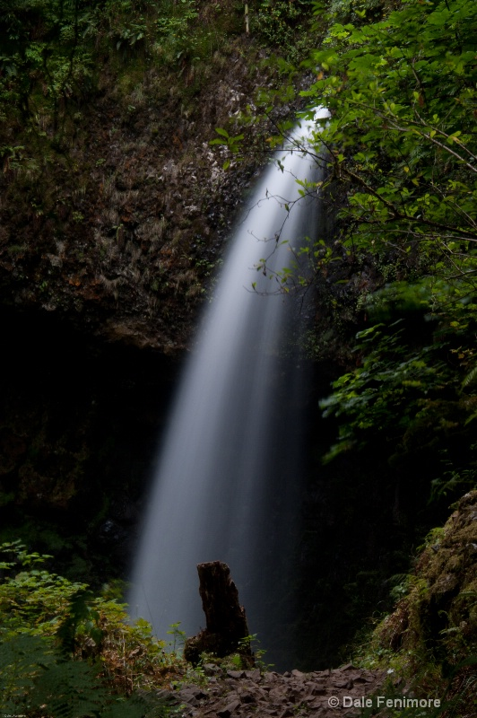 Upper Latourell Falls 1 - ID: 10746766 © Dale Fenimore