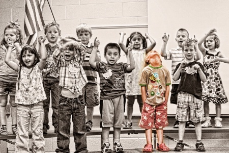 Preschool program / One in every group
