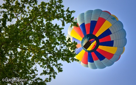 Balloon in flight...Lancaster County Pa.